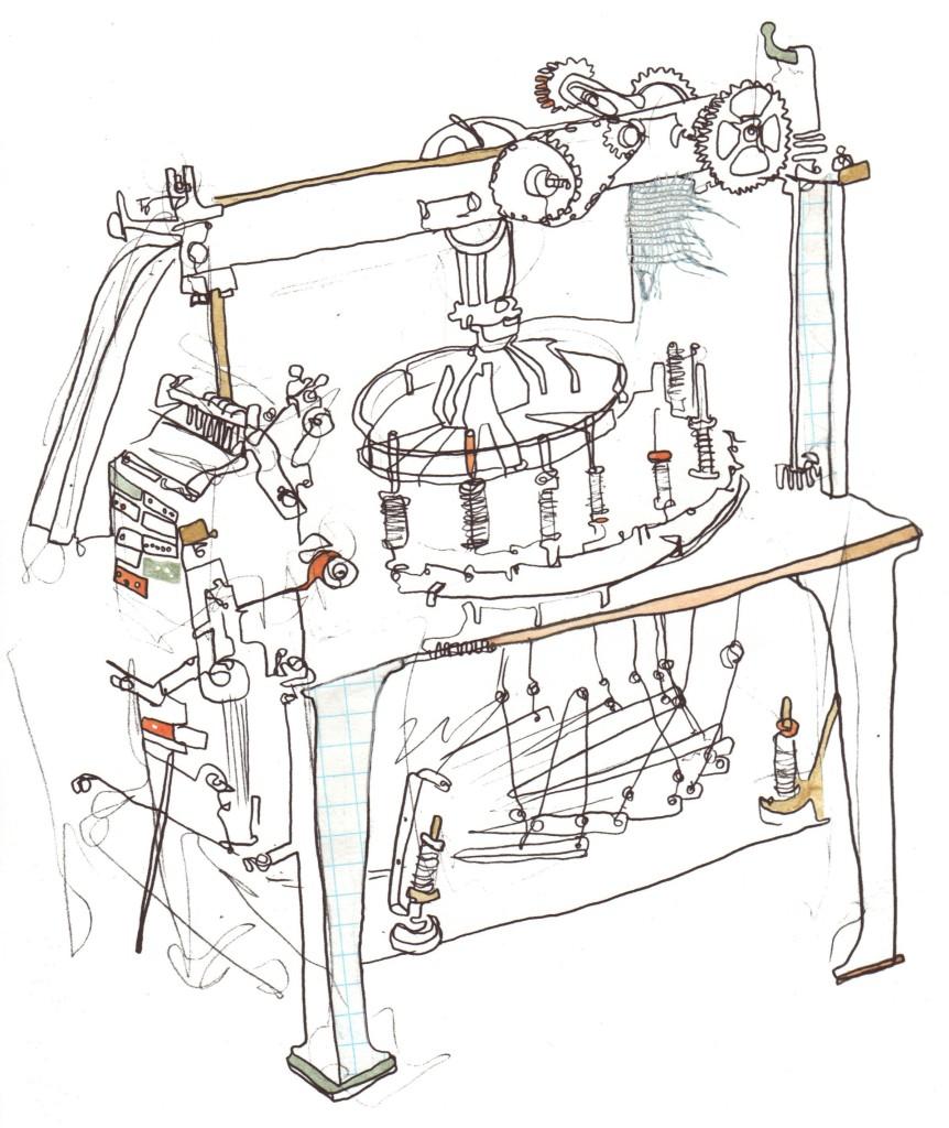 Barman Lace Machine